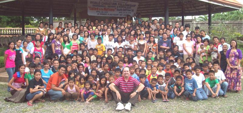 A joint fellowship in 2010 involving churches supported by Philippines Outreach